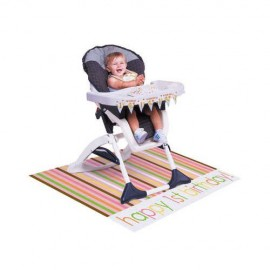 Sweet at One Girl High Chair Kit