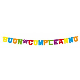 Banner Buon Compleanno 1.6m