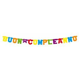 Banner Buon Compleanno 1,6m