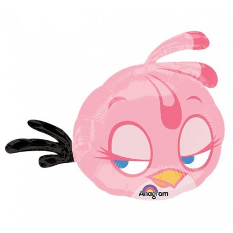 Palloncino Foil SuperShape Angry Birds Pink Bird