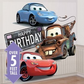 Scenografia Happy Birthday Cars Disney
