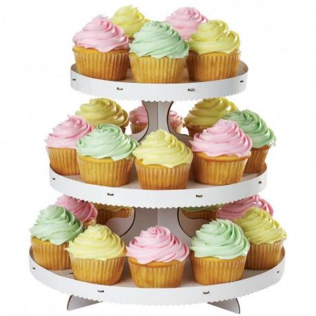 Alzata per Cupcakes Bianca
