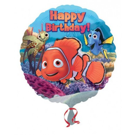 Palloncino Foil Nemo Happy Birthday
