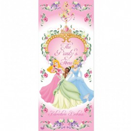 Decorazione Porta Principesse Disney