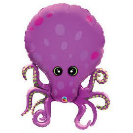 Octopus SuperShape Foil Balloon