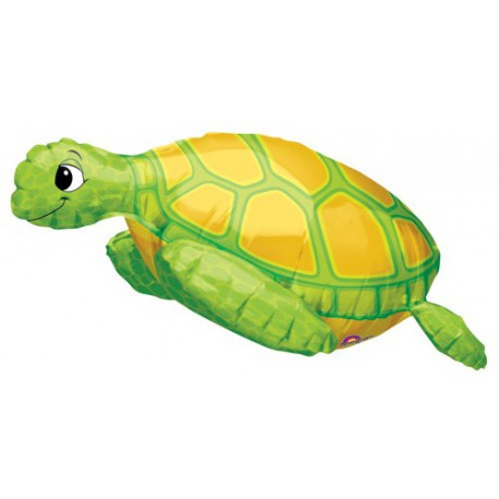 Sea Turtle SuperShape Foil Balloon