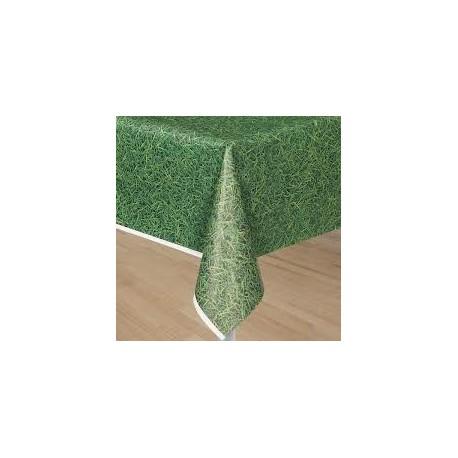 Tovaglia plastica prato verde