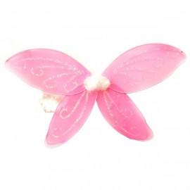 Alette per Fatina o Farfalla Rosa