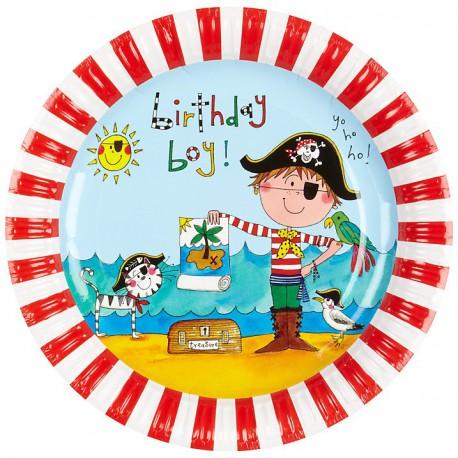 Piattini Birthday Pirate