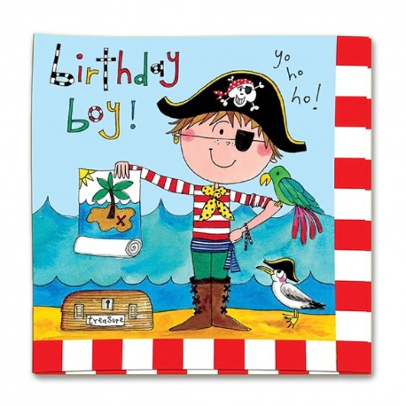 Birthday Pirate Lunch Napkins