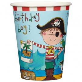 Birthday Pirate Paper Cups