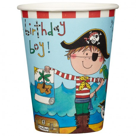 Bicchieri Birthday Pirate