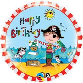 Palloncino Foil Birthday Pirate