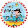 Birthday Pirate Foil Balloon
