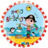 Palloncino Foil Birthday Pirate