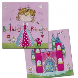 Birthday Princess Lunch Napkins