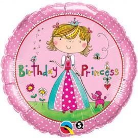 Palloncino Foil Birthday Princess