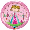 Palloncino Foil Birthday Princess