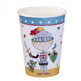 Birthday Knight Paper Cups