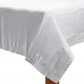White Paper Tablecover