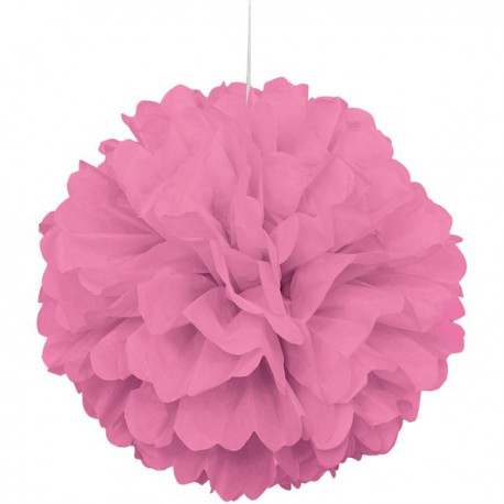 Hot Pink Fluffy Decoration