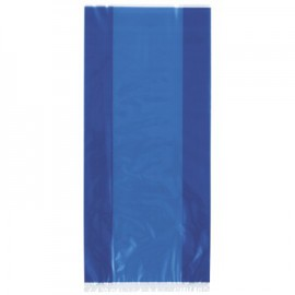 Royal Blue cellophane bags