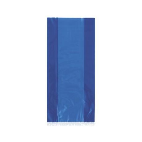 Royal Blue cellophane bags