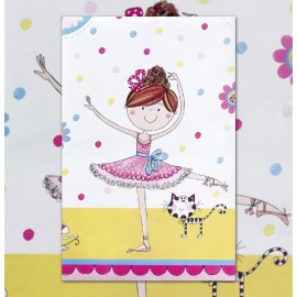 Birthday Ballerina Tablecover