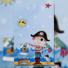 Birthday Pirate Tablecover