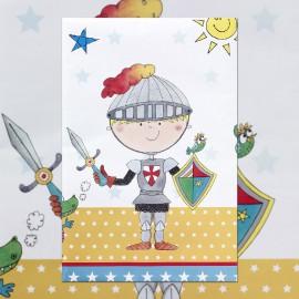 Birthday Knight Tablecover
