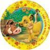 Lion King Dessert Plates