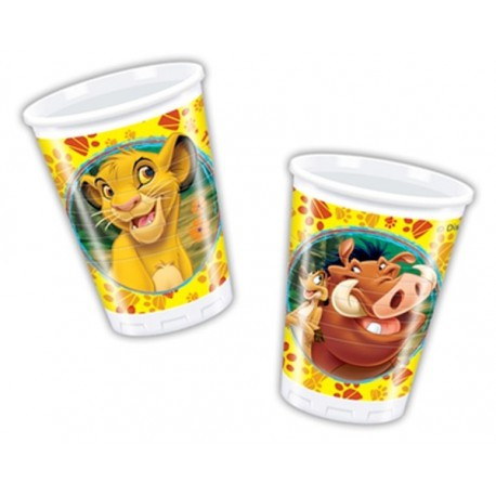 Lion King Plastic Cups