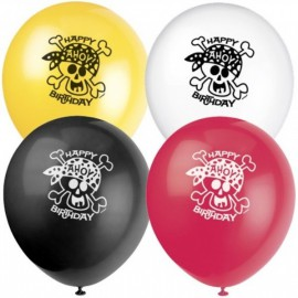 Pirate Fun Assorted Balloons
