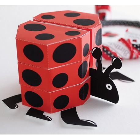 Ladybug Favorbox Centerpiece