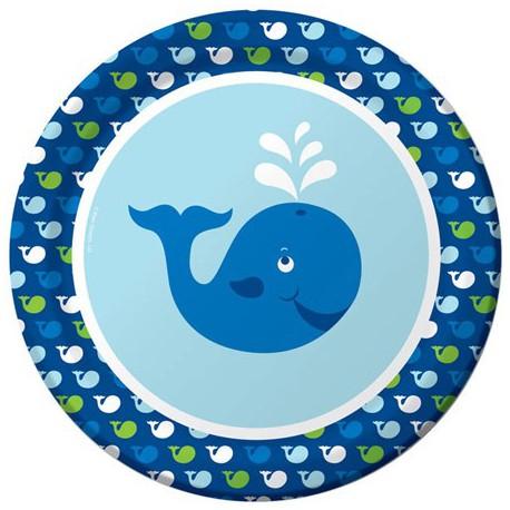Ocean Preppy Boys Dinner Plates