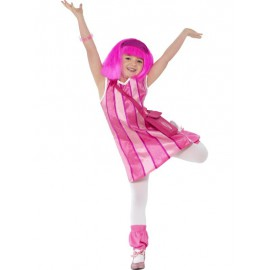 Costume Stephanie (Lazy Town) 7-9 anni