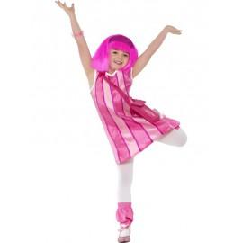 Costume Stephanie (Lazy Town) 7-9 anni