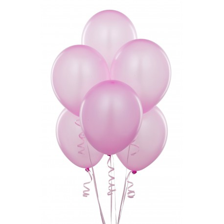 Light Pink Latex Balloons 10pc