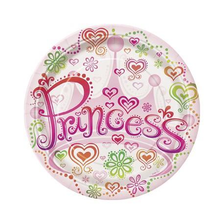 Princess Diva Dessert Plates
