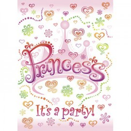 Biglietti invito Party Princess Diva