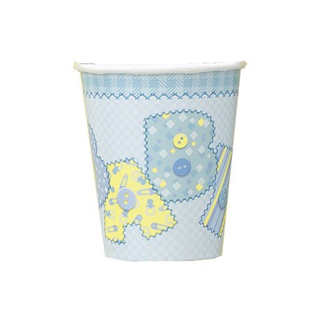 Baby Blue Paper Cups