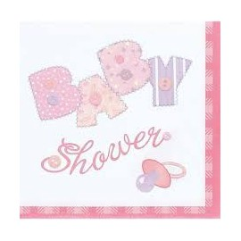 Baby Pink Lunch Napkins