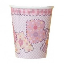 Baby Pink Paper Cups